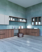 01_Estel_Executive & Common Area_Bookcase & Storage_Workwall