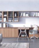 05_Estel_Executive & Common Area_Bookcase & Storage_Workwall