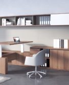 07_Estel_Executive & Common Area_Bookcase & Storage_Workwall