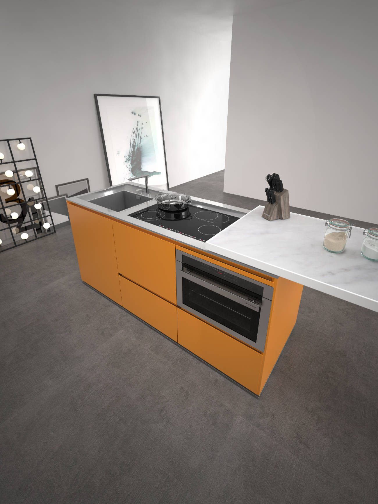 06G_Estel_Le case Italiane_Day_Cucina Wiwa__Isole Compact_Indoor